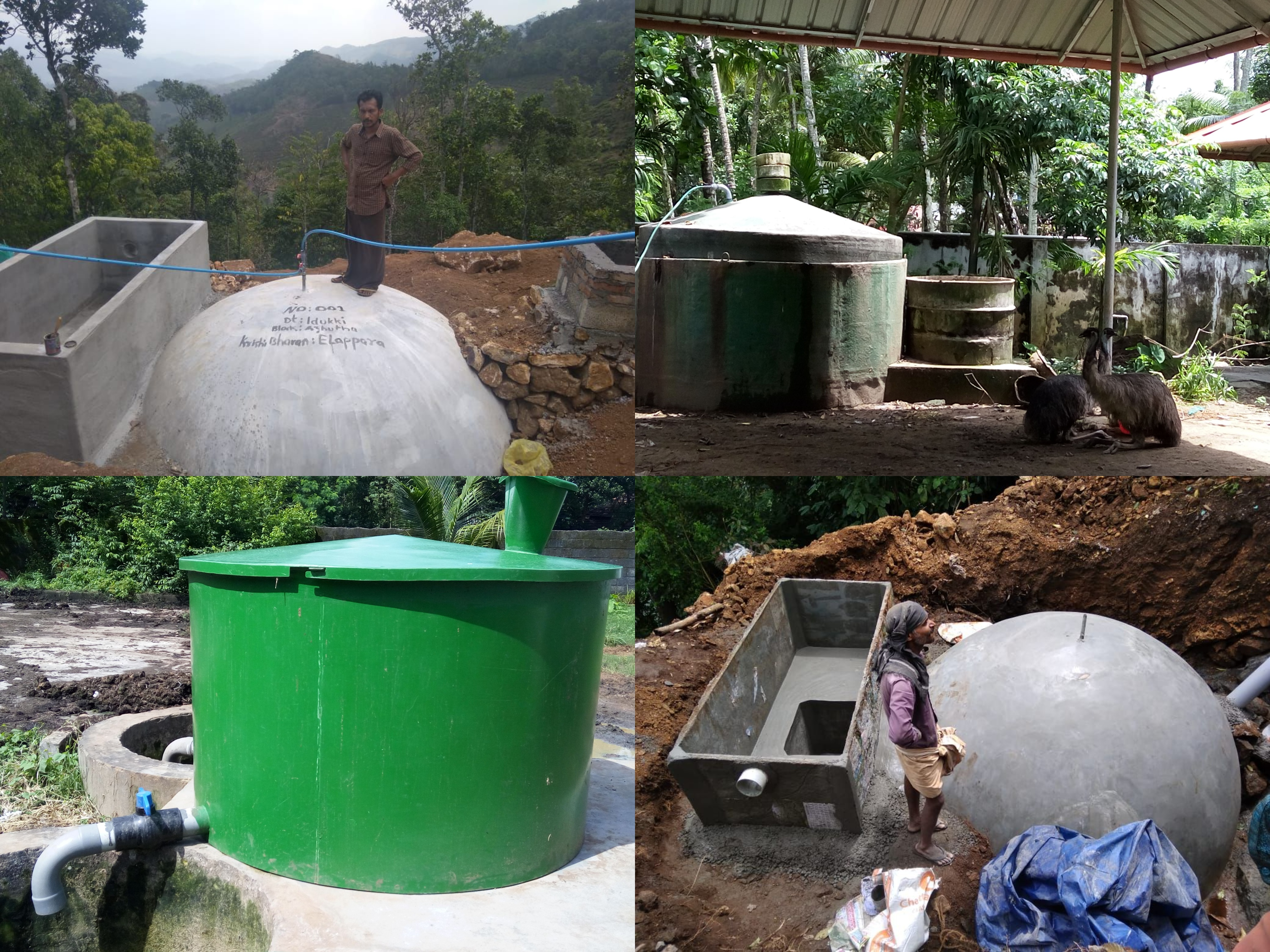 portable biogas plant services in india
